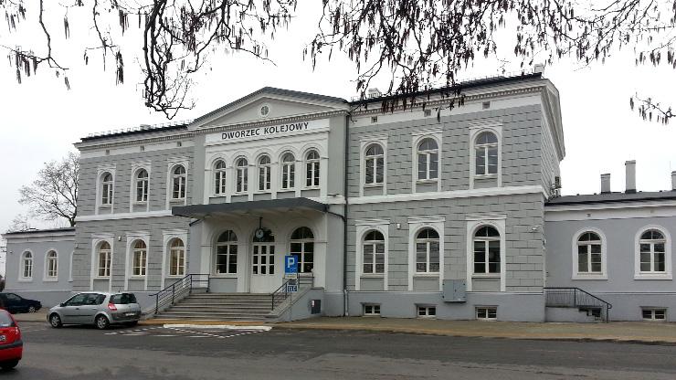 stacja kolejowa w Rawiczu