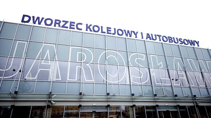 Stacja kolejowa w Jarosławiu