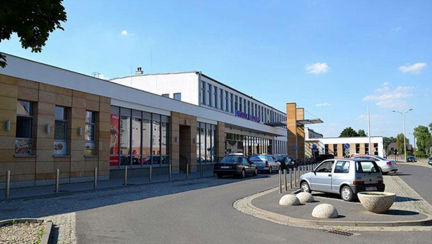 stacja kolejowa w Ostrowie Wielkopolskim